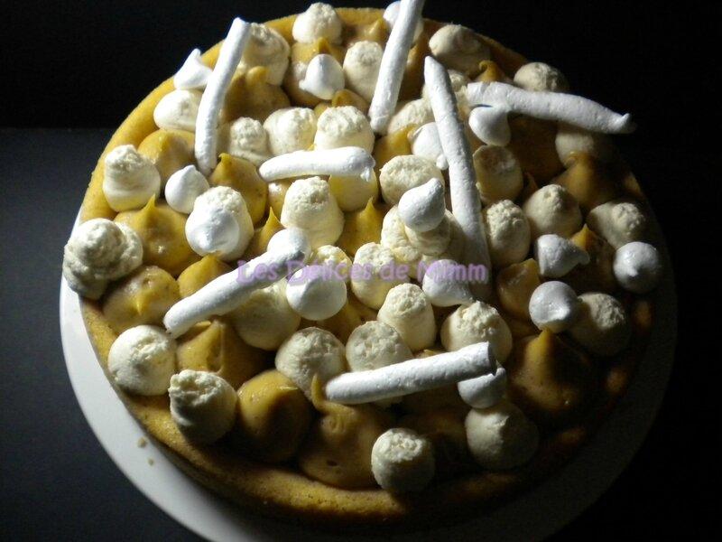 Sablé breton, crémeux au praliné et chantilly au caramel beurre salé, façon Fantastik 2
