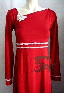 Robe bambou rouge (1)