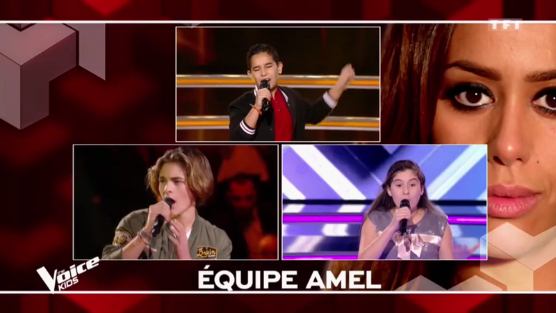 EQUIPE AMEL DEMI FINALE THE VOICE KIDS 5