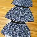 Une jupe pour 3 filles
