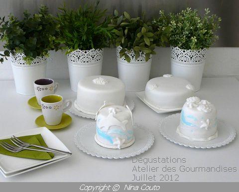 atelier des gourmandises wedding cake Dégustations juillet 2012
