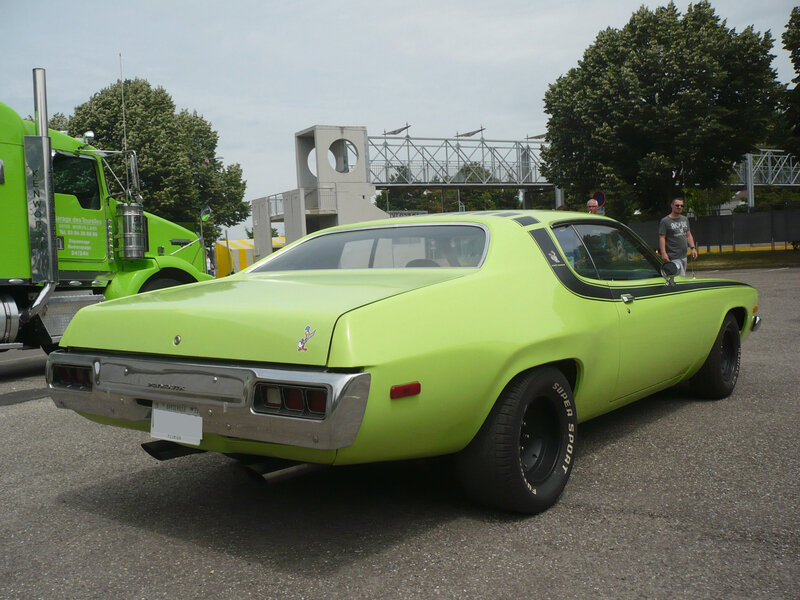 PLYMOUTH Road Runner 1973 Illzach (2)