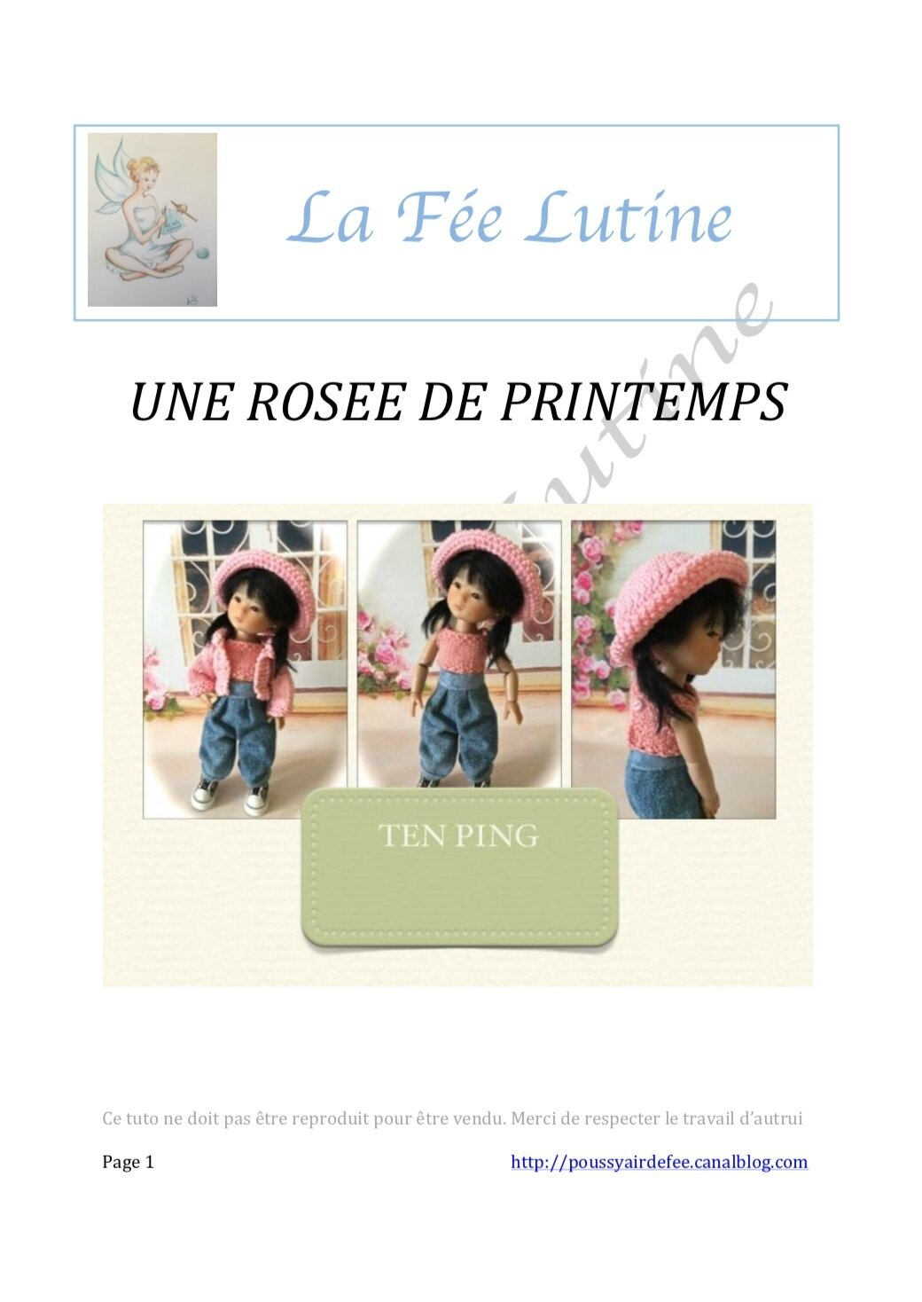 "Un geste pour l' Association "" LA FEE LUTINE """