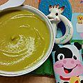 Purée petits pois/carottes et pommes de terre (4/6mois)