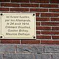 Flénu cimetière 4 - plaque fusilliés - 20121215_11