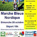 Découvrez le circuit marche nordique des 12 km d'octobre en avant première.