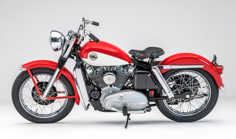 1957 Harley XL 883 Sportster
