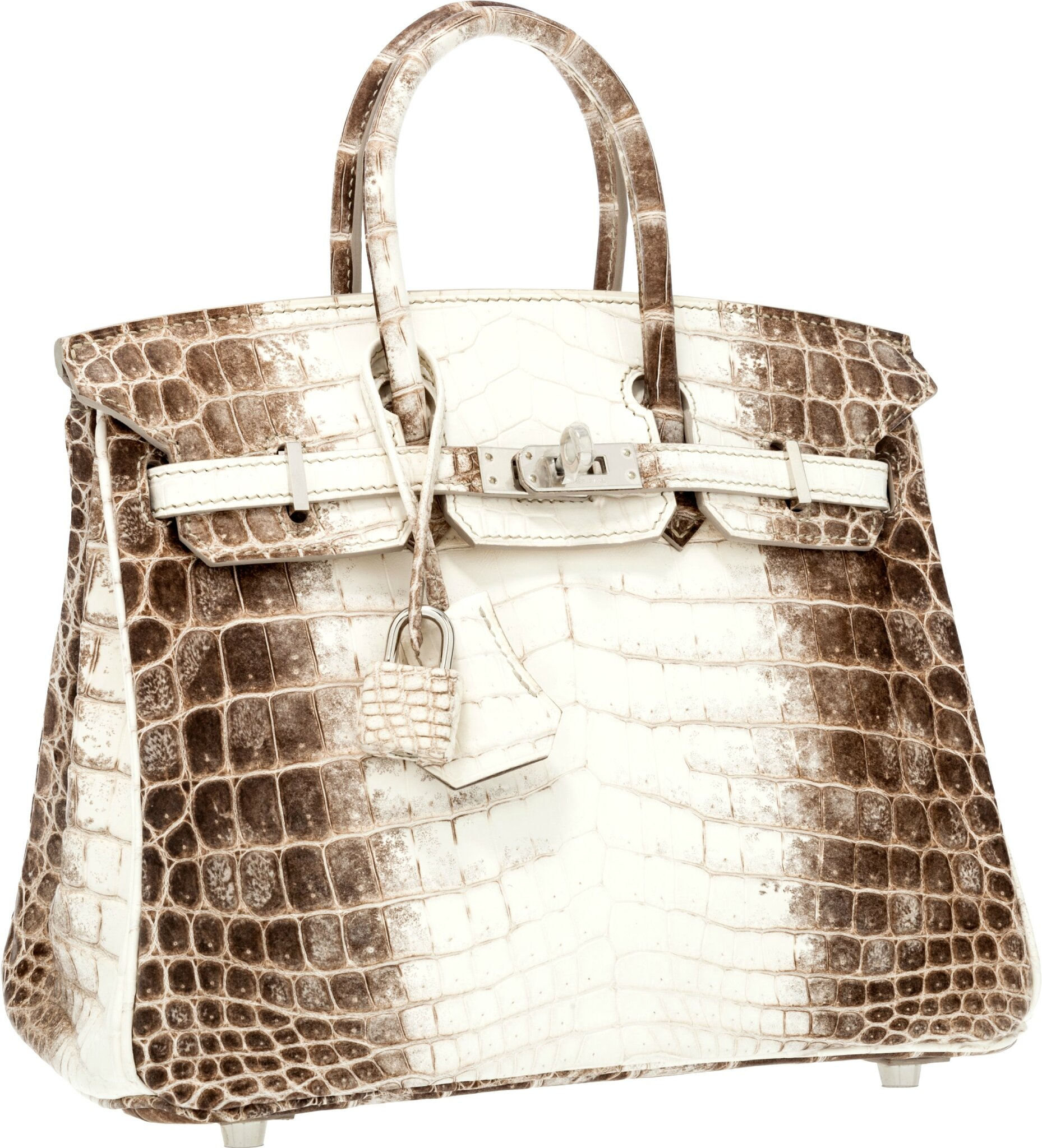 Two Hermes  Himalayan  handbags bookend Heritage New York Luxury  Accessories Auction 796f1a102ac9a