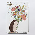 Nouveautés papeterie pour cartes d'art / new stationery for cartes d'art