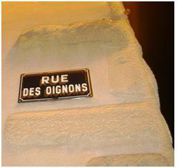 rue des oignons