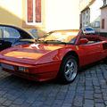 La ferrari mondial cabriolet de 1985 (3ème rencontre de voitures anciennes à benfeld 2010)