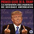 La 1ère déclaration de d. trump