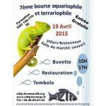 Affiche Bourse Villers Bretonneux 7em bourse aquariophile et terrariophile