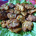 Beignets de crevettes à l'italienne