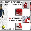 Babyfoot design - le debuch' - debuchy by toulet