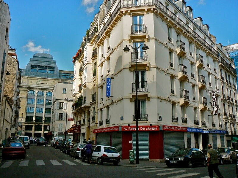 Architectures parisiennes.