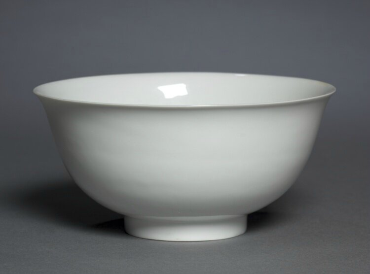 Bowl with Dragons and Clouds, 1403-1424, China, Jiangxi province, Jingdezhen , Ming dynasty (1368-1644), Yongle period (1403-1424)