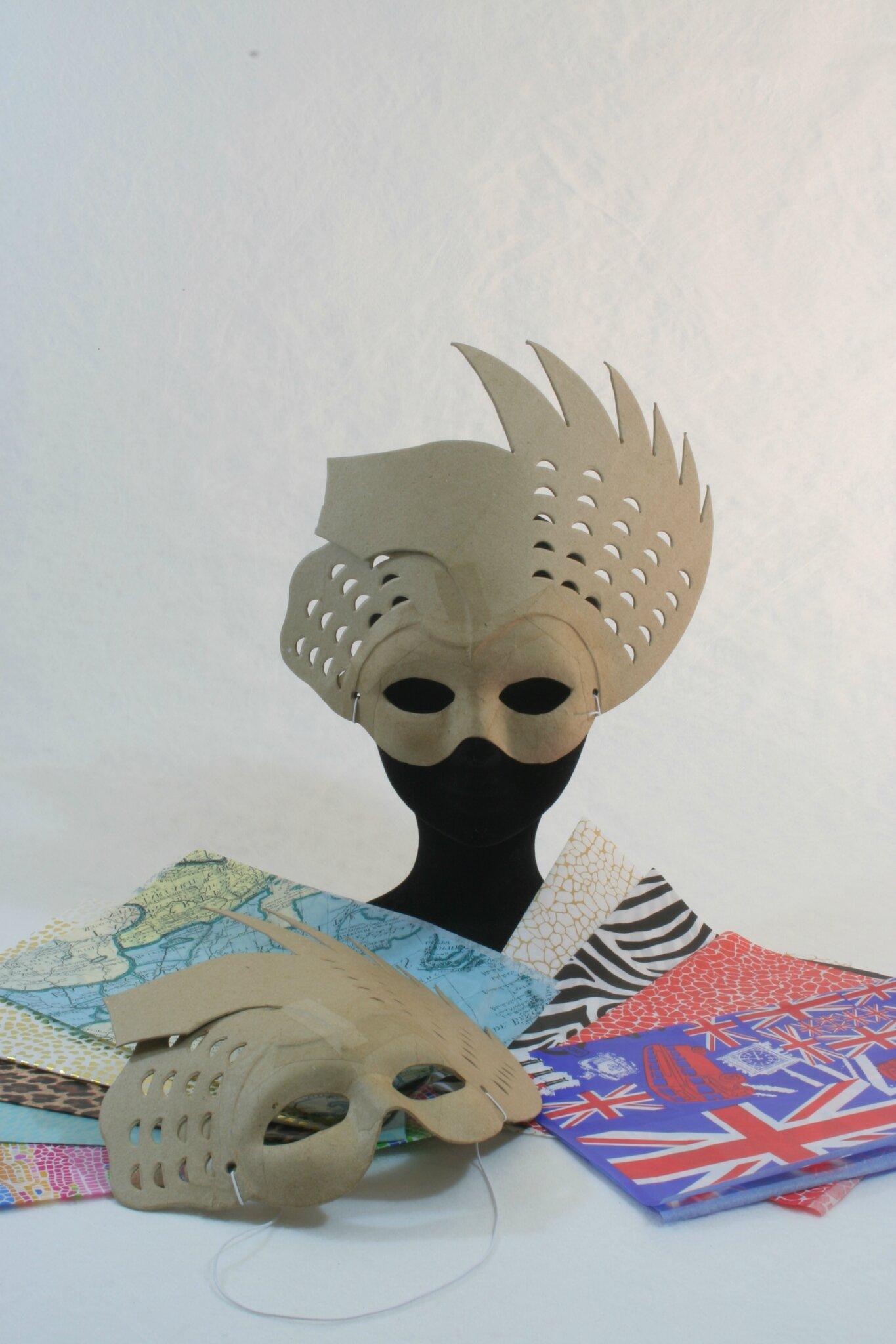Masques pour atelier