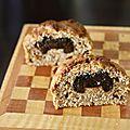 Muffins all bran aux carottes, pruneaux ou raisins (ou muffins oukon fait le plein de fibres)