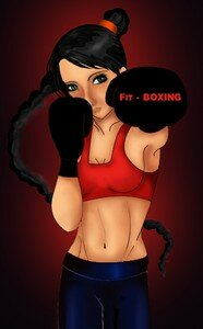 boxing_by_prettyJ