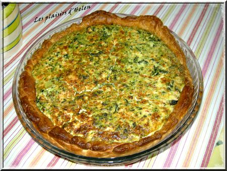 Quiche saumon épinards cplt