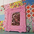 cadre baroque rose 2