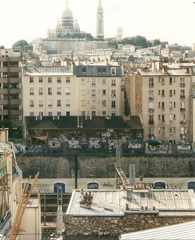 Paris, vue sur Montmartre (75)