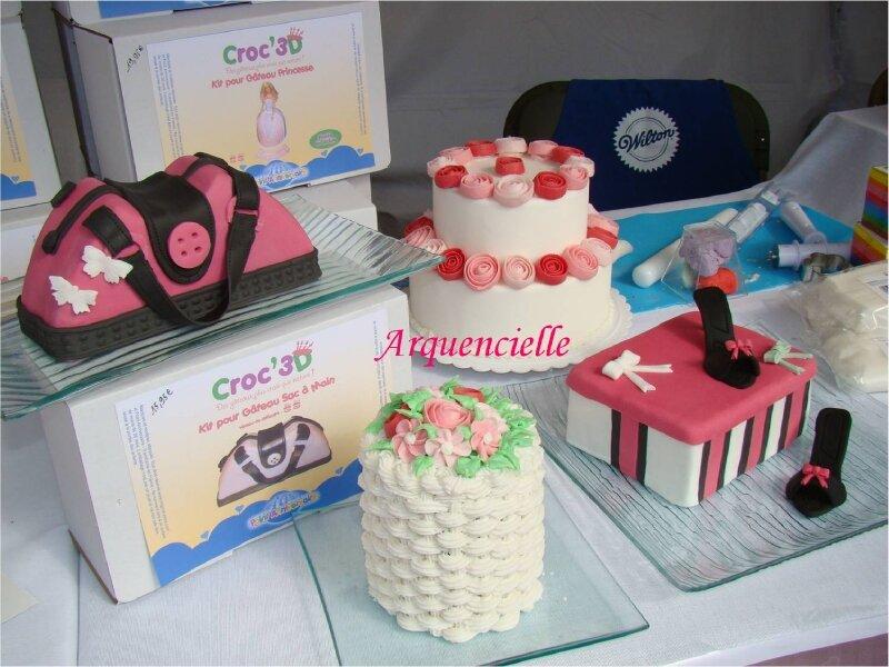 Gâteaux salon de la création Puteaux 2011