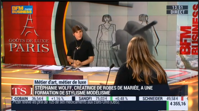 STEPHANIE WOLFF PARIS - BFMTV - 11 JANVIER 2016 - SUITE 5