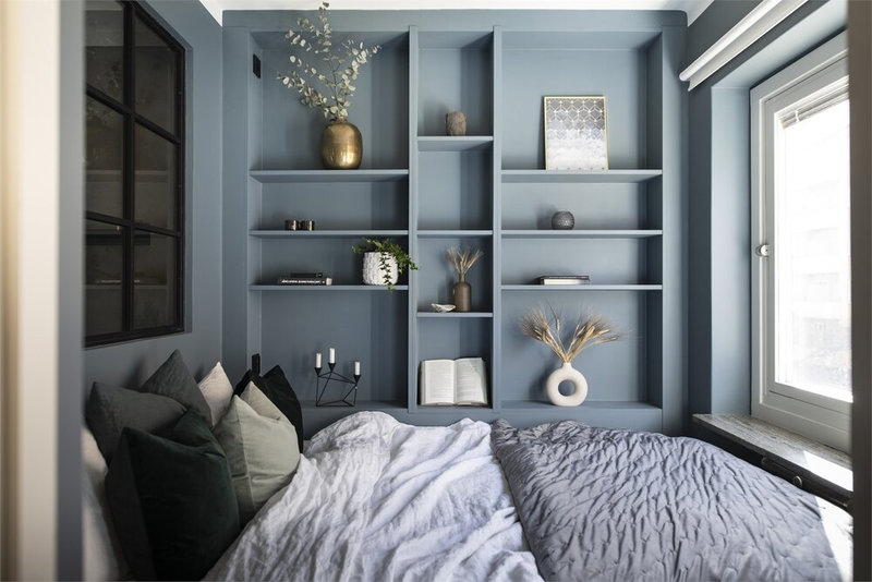 How+To+Decorate+A+Small+Bedroom+-+The+Nordroom