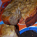 Gâteau à la banane & aux pépites de chocolat