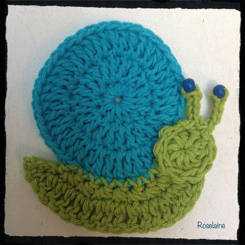 Escargot Crochet Roselaine