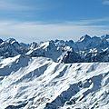 Valloire, vue sur le massif des Écrins (73)