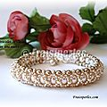 Bracelet Mille et une nuuits,rose copy