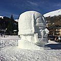 Concours de sculptures sur neige #2