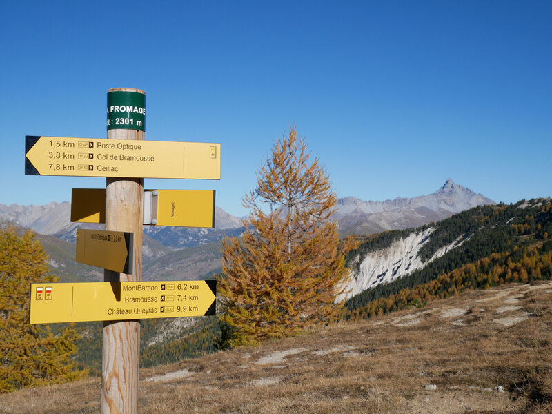 Col Fromage, 2301m