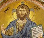 Christ en gloire cathédrale de Cefalù