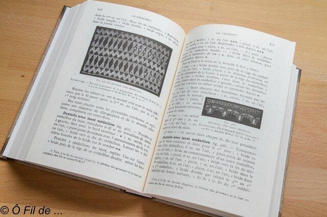 Les encyclopédie des arts du fil (3)