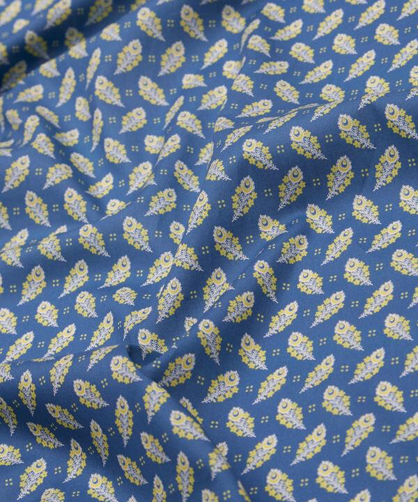Paisley Feather blue +