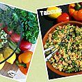 Taboulé : du soleil dans l'assiette