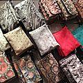 Sac Pochette Stella 'Multicolore & Chain' avec chaînes