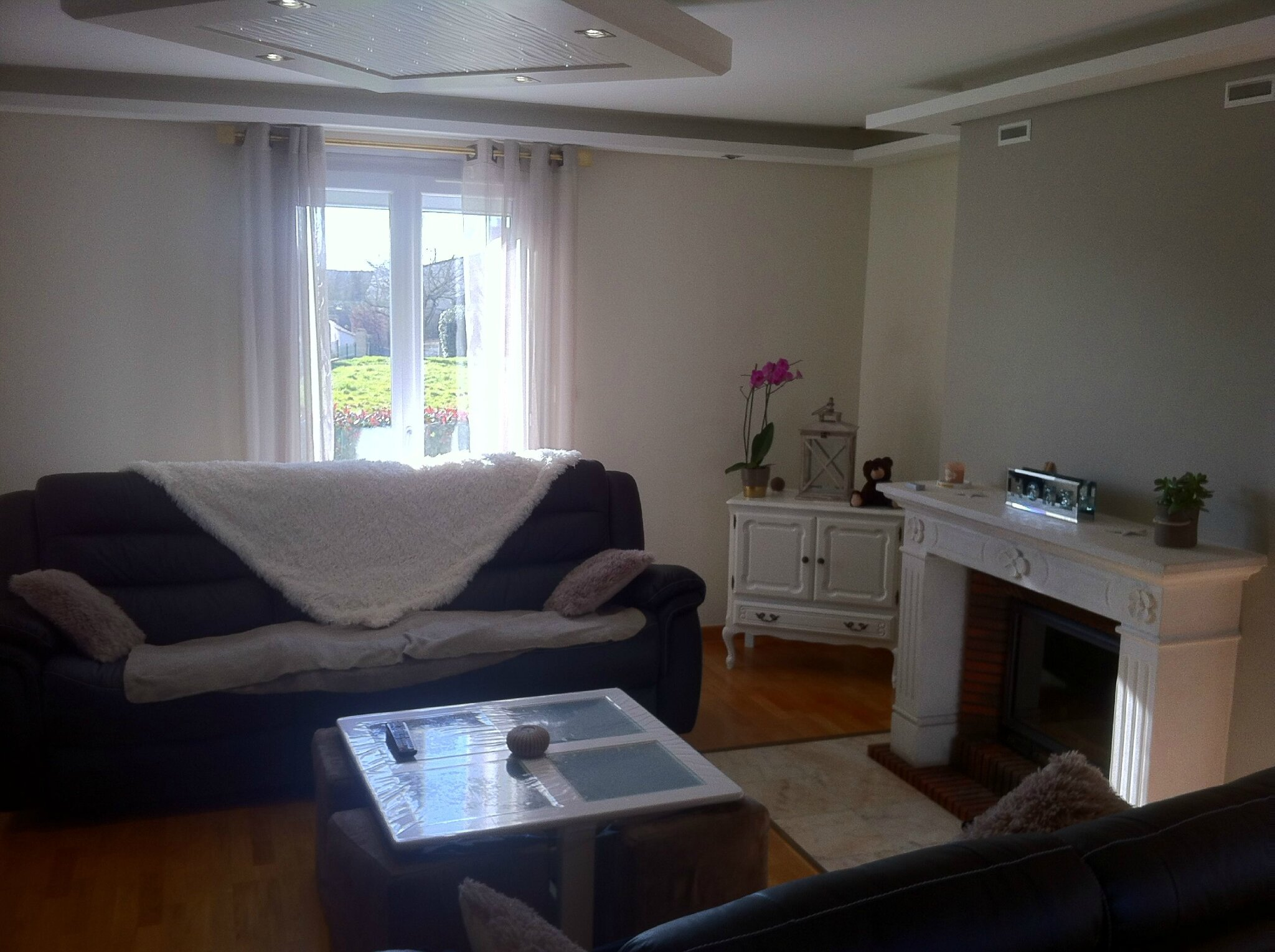 Rénovation d\'un salon : ambiance chaleureuse, cosy. - Album photos ...