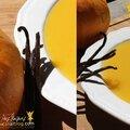 Veloute douceur {courgettes vanille et lait de coco}