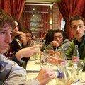 Première réunion riche en boisson