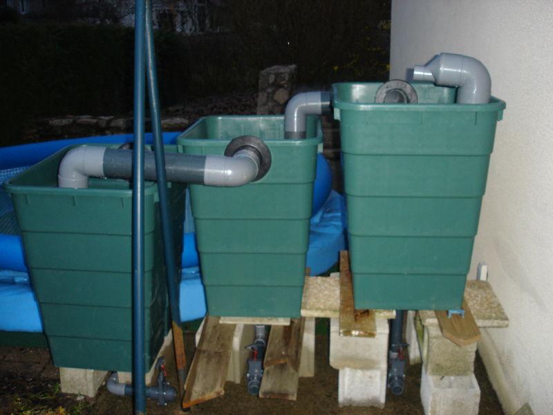 Filtration bassin fait maison avie home for Filtre bassin koi