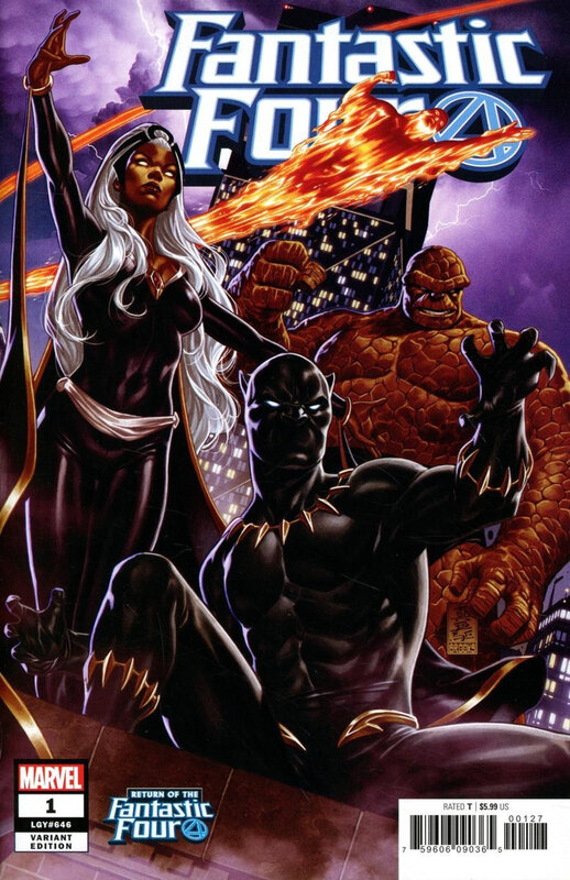 fantastic four 01 mark brooks variant