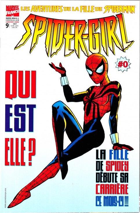marvel mega hs 09 spider-girl 0