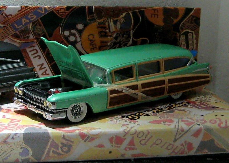 Cadillac eldorado woodie de 1959 (Hotwheels 1999)