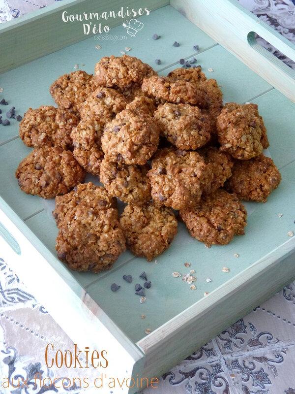 Cookie flocon d'avoine (6)