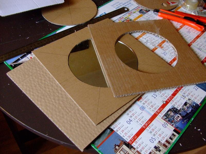 une t te de lit en carton le petit atelier de jeanne. Black Bedroom Furniture Sets. Home Design Ideas